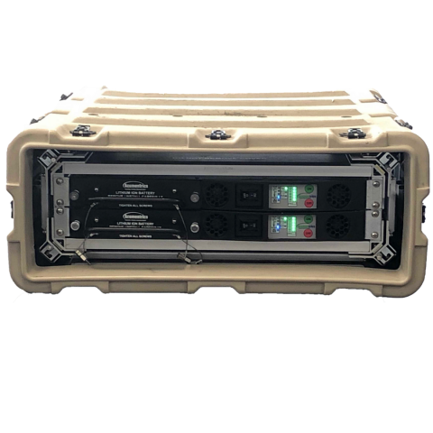 Main photo of the ANB1251C1 Rugged MIL Operational Transit Case